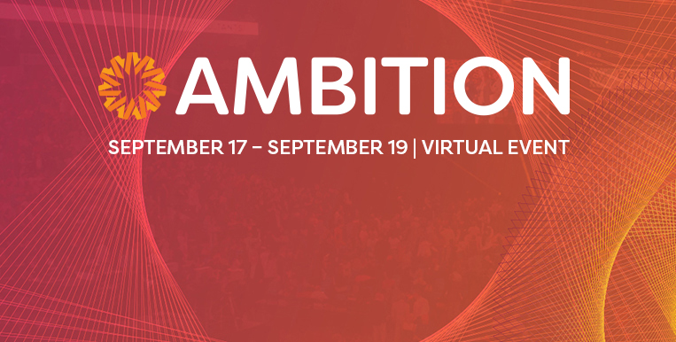 AMBITION 2020 Mobile Event Banner