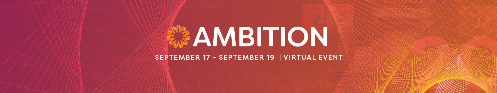 AMBITION 2020 Event Banner
